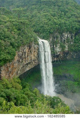 Caracol Waterfall, Canela, Rio Grande do Sul, Brasil