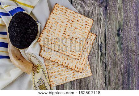 Jewish Holiday Matzoh Passover Bread Torah