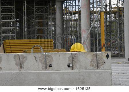 Yellow Builder'S Helmet