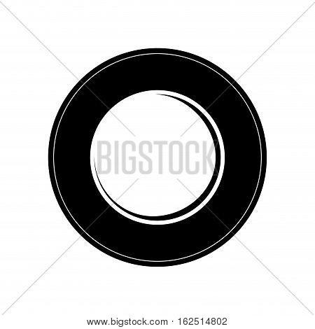 Restaurant dishware utensil icon vector illustration graphic design