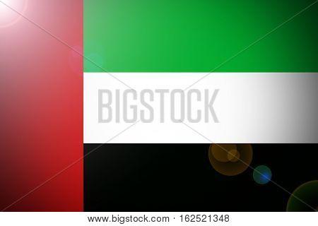 United Arab Emirates flag, UAE Nation flag