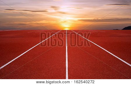 Athlete Track or Running Track, track outoor running