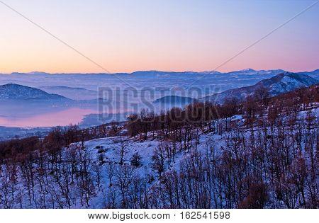 The Misty Lake Of Kastoria