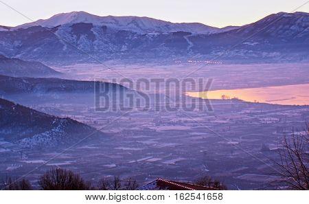 The Misty Mountains Of Kastoria