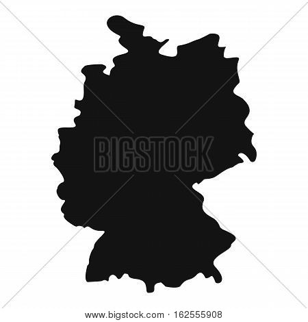 Map of Germany icon. Simple illustration of map of Germany vector icon for web