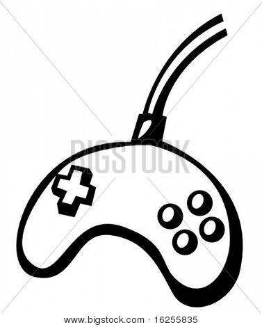 joypad videogame control