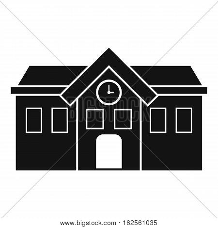 Chapel icon. Simple illustration of chapel vector icon for web