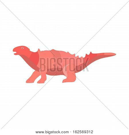 Dinosaur cartoon collection set. Cartoon dinosaurs cute monster funny animal. Comic dinosaurs kids game. Vector