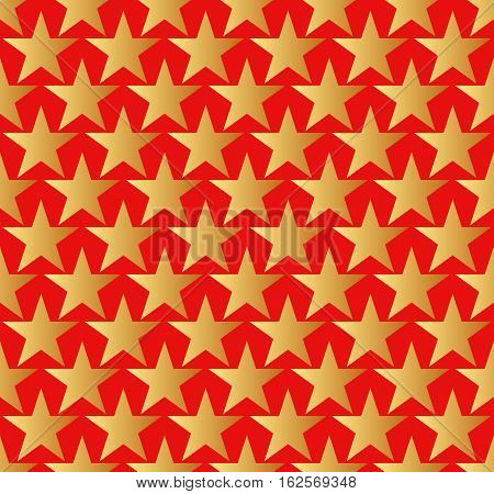 starry background or seamless pattern - vector illustration