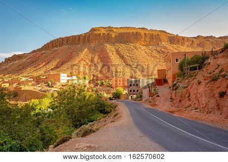 Gorges Du Dades In Morocco