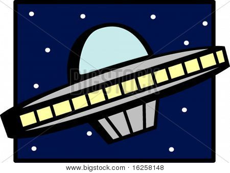 unidentified flying object ship