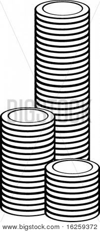 tower of coins