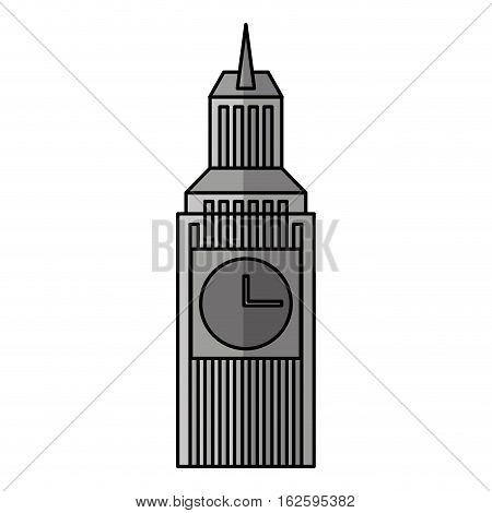 big ben isolated icon vector illustration design