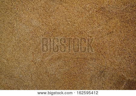Plaster, plaster natural color on a concrete wall. Stucco beige wall background or texture. Plaster, plaster texture, plaster background. Natural plaster wall. Natural stucco wall.