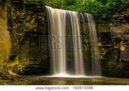 Minneopa state park waterfalls Mankato Minneapolis MN