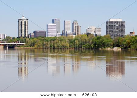 Color Tulsa Skyline