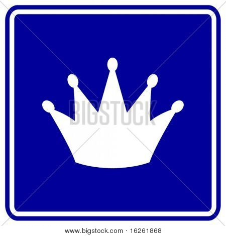 crown sign