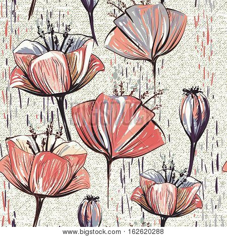 Seamless pattern can be used for wallpapers, pattern fills, web page backgrounds, surface textures