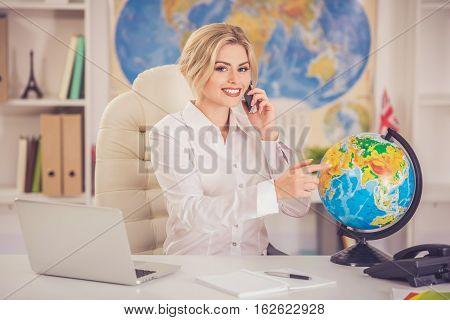 Beautiful Travel Agent