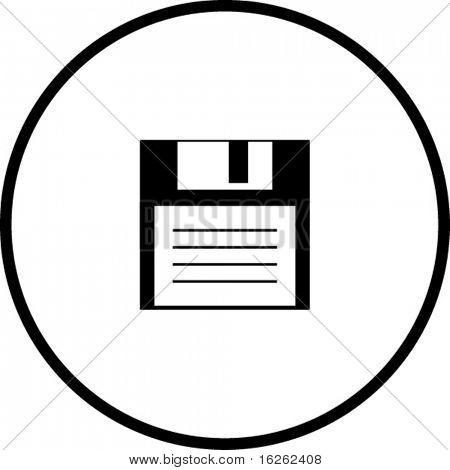 floppy disk front symbol