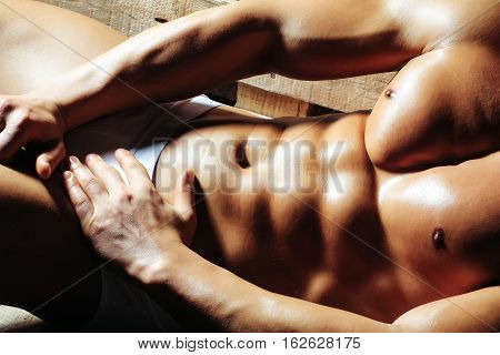 Male Muscular Body Or Torso
