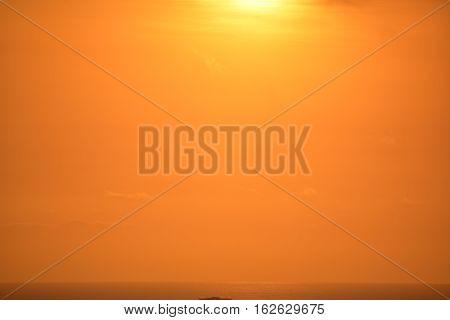 Baldwin Hills Overlook Golden Sky
