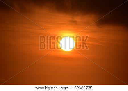 Baldwin Hills Overlook Golden Sunset