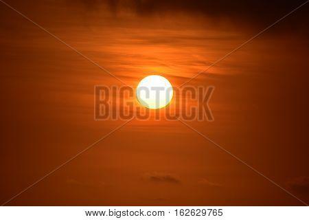 The Golden Sunset At Baldwin Hills Overlook