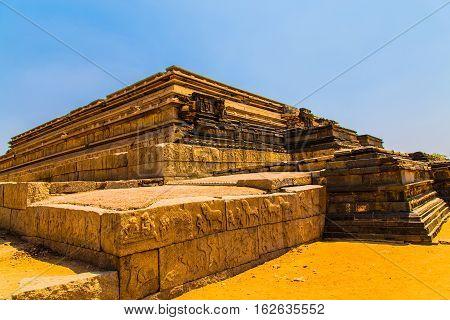 Ruins in Hampi, Unesco world heritage site, India