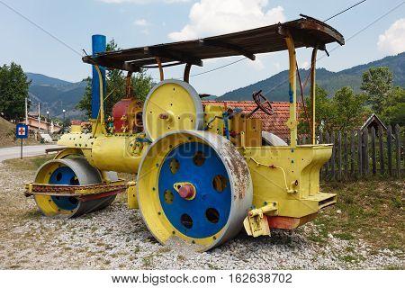 Antique Steam Roller