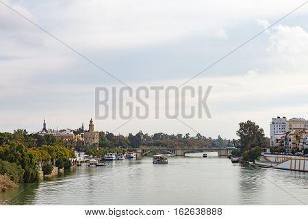 Cityscape Of Sevilla