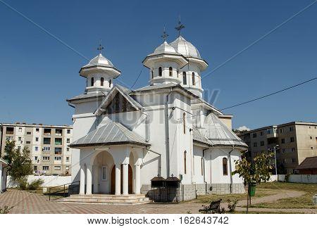 Orthodox church in Matasari , Romania ( beautiful orthodox church )