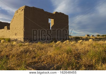 Fort Churchill, Nevada, Usa, Are The Remains Of A United States Army Fort And A Waystation On The Po