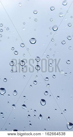 Rain Droplets - Vertical
