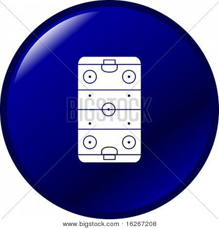 ice hockey rink button