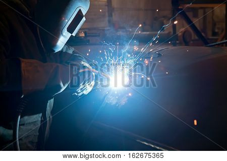 Repair Of Parts Of The Apparatus For Manual Arc Welding
