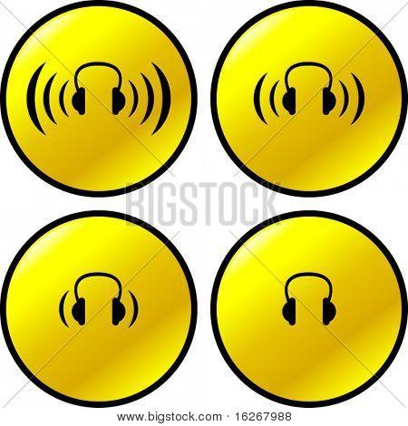 headphones buttons