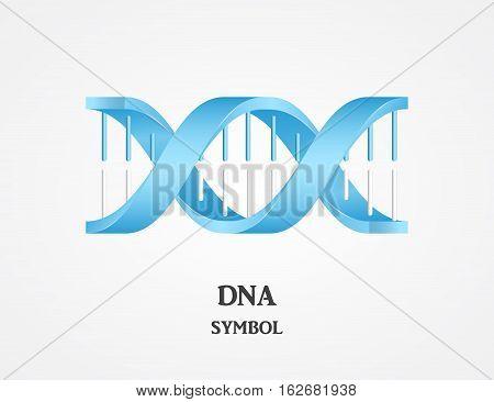 DNA symbol DNA logotype science logo spiral logo