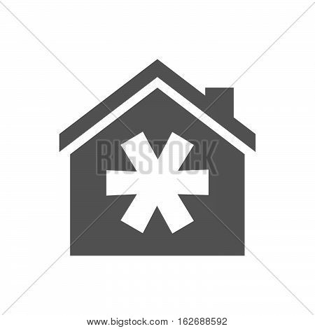 Isolated House With An Asterisk