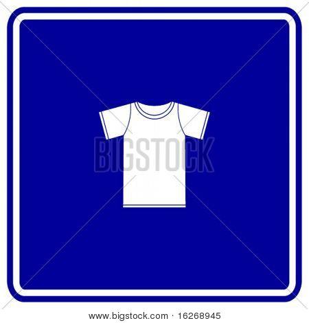 t-shirt sign