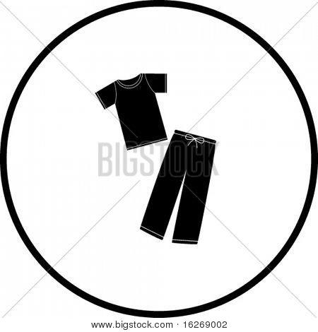 pajamas symbol