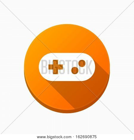 Isolated Button With A Game Pad