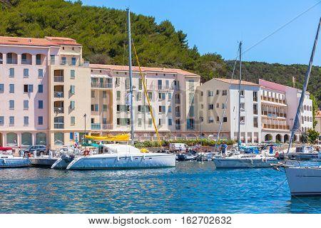 Marina Of Bonifacio, Sailing Yachts