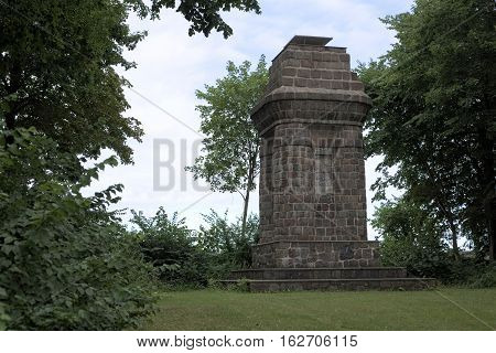 Bismarck Tower Or Bismarck Column In Greifswald, Germany