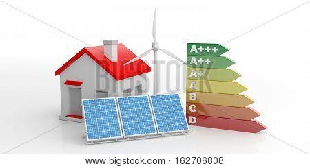3D Rendering Energy Efficiency Rating