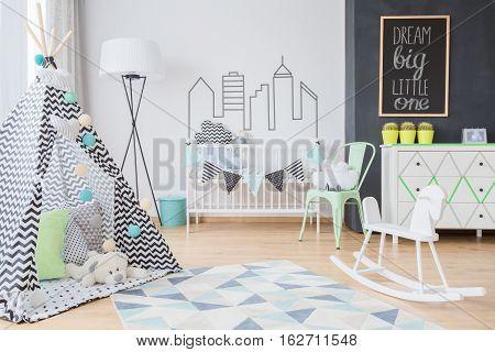 Scandinavian Inspirations For A Little Adventurer's Room