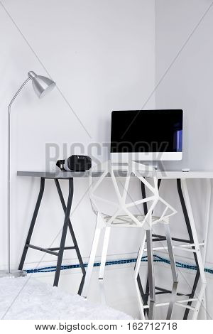 White Room With A Gap Chair