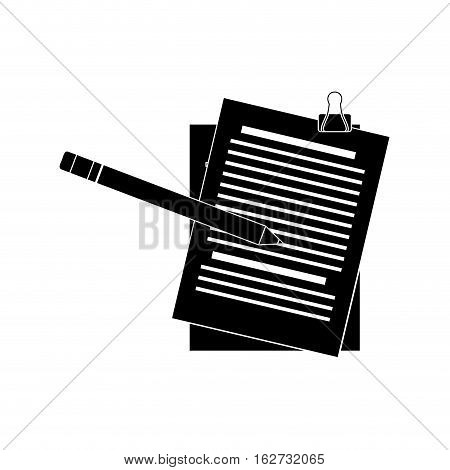 document office icon image vector illustration design