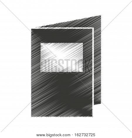 folder documents isolated icon vector illustration design