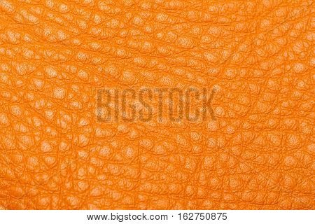 Texture of genuine leather close-up, cowhide, background